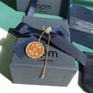 Apm Monaco Fashion New Orange Earrings